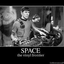 Mr Spock knows the power of vinyl