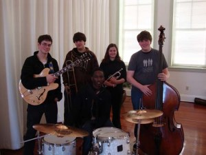 The Jazz St. Louis All-Stars, appearing at the DFJE stage Saturday, at 6pm