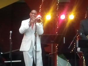 Delfeayo at the Twin Cities Jazz Festival a couple of years back.