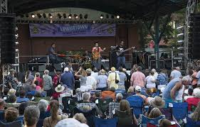 Lowertown Blues Festival. One opportunity for outdoor music