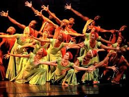 The Jamaican National Dance Theater, performing at the Jamaica Expo on Sunday